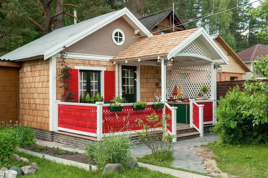 Садовые домик с картинками
